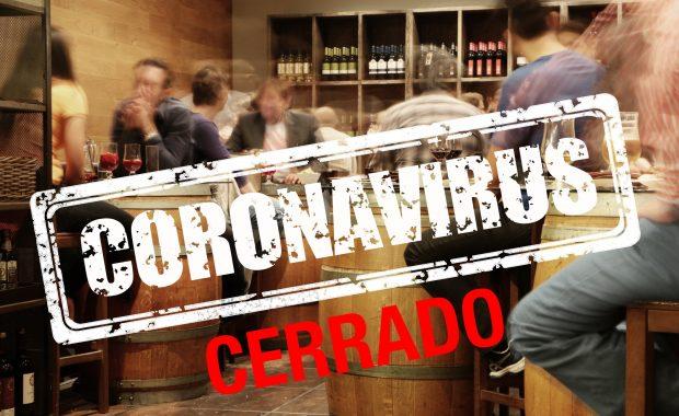 Bar cerrado coronavirus